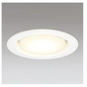 オーデリック LEDベースダウンライト 高気密SB形 フラット形 白熱灯60Wクラス 電球色〜昼光色 Bluetooth調光・調色 埋込穴φ100 オフホワイト OD361204BC