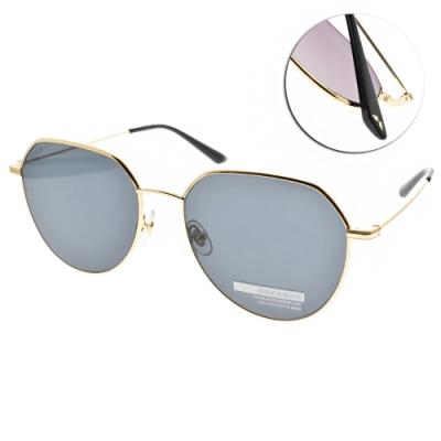 MOLSION 偏光太陽眼鏡 Angelababy代言 金-藍 # MS7071 C60