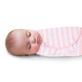 《美國Summer infant》聰明懶人育兒包巾-粉嫩條紋 ㊣原廠授權總代理公司貨
