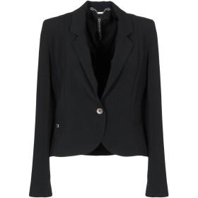 《期間限定セール開催中!》MANILA GRACE レディース テーラードジャケット ブラック 44 ポリエステル 98% / ポリウレタン 2%