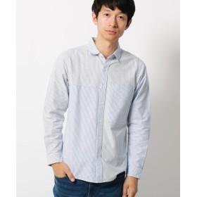 THE SHOP TK(Men)(ザ ショップ ティーケー(メンズ)) 【3L/WEB限定サイズ】切り替えデザインシャツ
