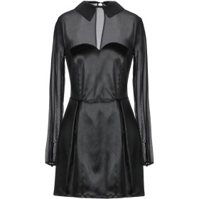 《セール開催中》PASSEPARTOUT DRESS by ELISABETTA FRANCHI CELYN b. レディース ミニワンピース&ドレス ブラック 44 アセテート 67% / ナイロン 29% / ポリウレタン 4%