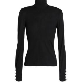《期間限定セール開催中!》NICHOLAS レディース T シャツ ブラック 2 ウール 100%