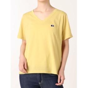 【50%OFF】 ジェイダ G VORTEX VネックTシャツ レディース イエロー F 【GYDA】 【セール開催中】