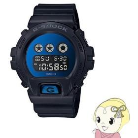 在庫僅少 【逆輸入品】 カシオ 腕時計 G-SHOCK メンズ ブラック×ブルー DW-6900MMA-2/srm