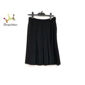 プレインピープル PLAIN PEOPLE スカート サイズ4 XL レディース 美品 黒 プリーツ 新着 20190925