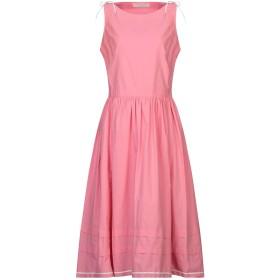 《セール開催中》PHILOSOPHY di LORENZO SERAFINI レディース 7分丈ワンピース・ドレス ピンク 38 コットン 100%
