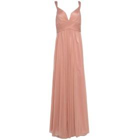 《セール開催中》FOREVER UNIQUE レディース ロングワンピース&ドレス ピンク 12 ナイロン 60% / 金属繊維 40%