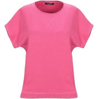 《セール開催中》ROBERTO COLLINA レディース スウェットシャツ フューシャ XS コットン 100%