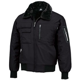 長袖ジャケット 防寒ジャンパー ジャケットWINTER CLOTH tw-846326-b ブラック×ブラック 4L