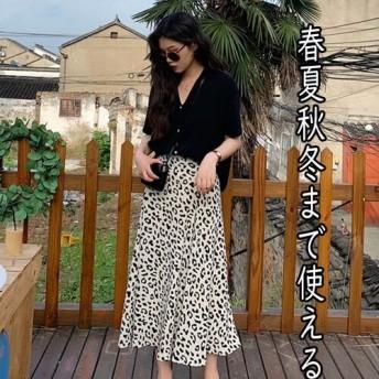 [55555SHOP] 超人気 ins話題 新品 シャツ+スカート 2点セット 日よけしますセット着痩せ レデイースファッション幅広くしっかり体型カバー2点セット