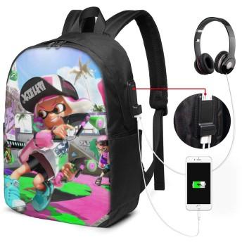 バッグ 鞄 リュック スプラトゥーン 2 Splatoon 2 バックパック リュックサック 背負う 双肩バッグ スクエアリュック おしゃれ
