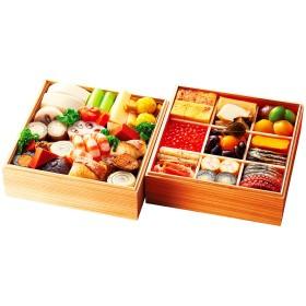 【おせち】祇園 閼伽井 和 二段重(YG067)<鳥取・島根地域お届け>380679