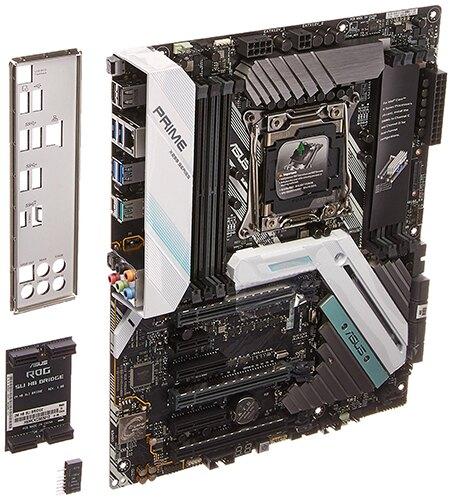 【美國代購】華碩 PRIME X299-A Deluxe DDR4 M.2 USB 3.1 X299 ATX 主機板, LGA2066腳位 支援Core X 處理器。人氣店家好物聯網的美國代購品牌專區