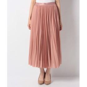 (ANAYI/アナイ)ハイツイストボイルプリーツスカート/レディース ピンク