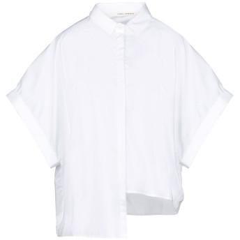 《セール開催中》ISABEL BENENATO レディース シャツ アイボリー 38 コットン 100%