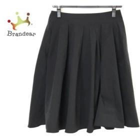 フォクシーニューヨーク FOXEY NEW YORK スカート サイズ42 L レディース 美品 黒 プリーツ 新着 20190925