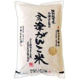 令和元年新米 会津がんこ米 コシヒカリ 特別栽培米 2kg 玄米