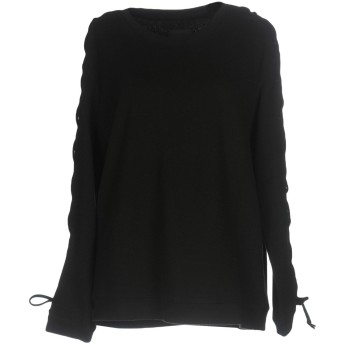 《セール開催中》RTA レディース スウェットシャツ ブラック XS コットン 100%