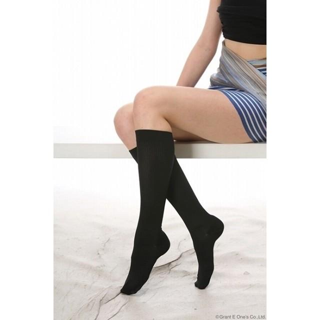 【送料無料】 ビビ アティーボ ハイソックス 男女兼用 2足セット(同色) BiBi ララ グラント イーワンズ LALA 脚やせ 足やせ 脚痩せ 浮腫み改善 対策 予防 下半身ダイエット
