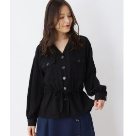 SHOO・LA・RUE / シューラルー オープンカラードロストシャツ