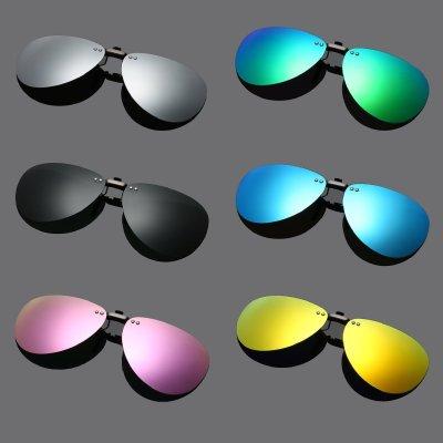 鋁鎂合金 加大輕量版 飛行員式偏光太陽眼鏡夾片 / 太陽眼鏡夾片 / 夾式太陽眼鏡 / 夾式太陽眼鏡 / 夾鏡