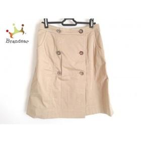 ユキトリイ YUKITORII 巻きスカート サイズ38 M レディース 美品 ベージュ 新着 20190925