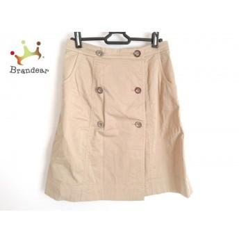 ユキトリイ YUKITORII 巻きスカート サイズ38 M レディース 美品 ベージュ   スペシャル特価 20200103