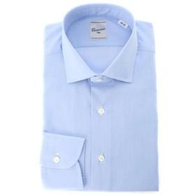 CAMICIAIO OGGI / マイクロツイルショートワイドカラーシャツ