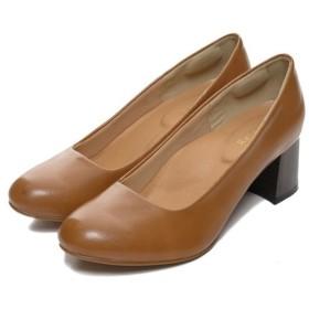 Re: EDIT 大人の気品漂うマットな質感のデザインパンプス ラウンドトゥウッド調ヒールパンプス シューズ/パンプス ブラウン LL レディース 5,000円(税抜)以上購入で送料無料 パンプス 夏 レディースファッション アパレル 通販 大きいサイズ コーデ 安い おしゃれ お洒落 20代 30代 40代 50代 女性 靴 シューズ