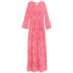 《セール開催中》ALBERTA FERRETTI レディース ロングワンピース&ドレス ピンク 40 コットン 80% / ナイロン 20%