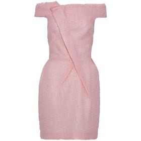 《セール開催中》ROLAND MOURET レディース ミニワンピース&ドレス ピンク 12 アセテート 51% / シルク 24% / ナイロン 15% / ポリエステル 10%
