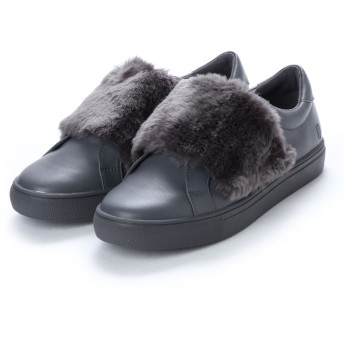 メゾン ユー MAISON U SNEAKER WITH FUR (GRAY)
