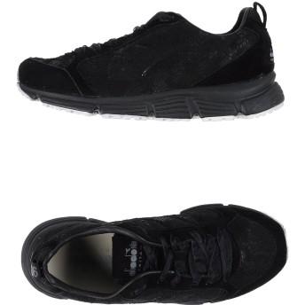 《セール開催中》DIADORA HERITAGE レディース スニーカー&テニスシューズ(ローカット) ブラック 3.5 革 紡績繊維