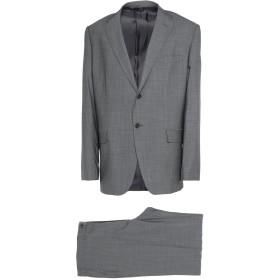 《期間限定セール開催中!》LEBOLE メンズ スーツ グレー 60 バージンウール 100%