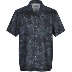 《期間限定セール開催中!》OFFICINE GNRALE Paris 6 メンズ シャツ スチールグレー XS コットン 100%