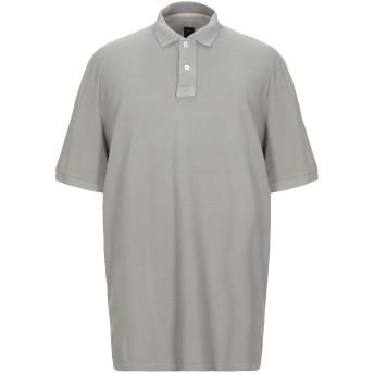 《セール開催中》ELEVENTY メンズ ポロシャツ グレー 4XL コットン 100%