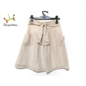 ジャスグリッティー JUSGLITTY スカート サイズ0 XS レディース 美品 アイボリー 新着 20190925