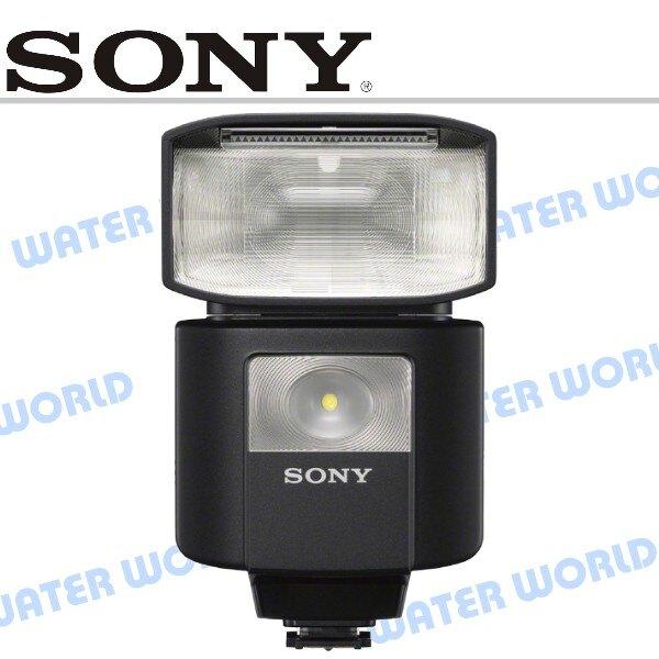 【中壢NOVA-水世界】SONY HVL-F45RM 閃光燈 機頂閃光燈 閃燈 GN45 公司貨