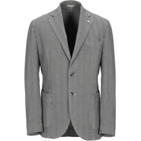 《期間限定セール開催中!》L.B.M. 1911 メンズ テーラードジャケット グレー 54 指定外繊維(紙) 100%