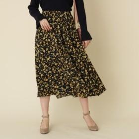 [マルイ]【セール】フレアロング小花スカート/クチュールブローチ(Couture Brooch)