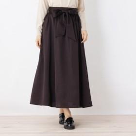 [マルイ]【セール】サテン×Aラインスカート/オペークドットクリップ(OPAQUE. CLIP)