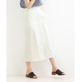 NIMES / ニーム ツイルタイトスカート