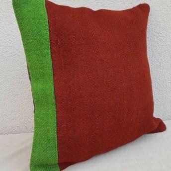 手作りキリム枕カバー 40 x 40 Cm