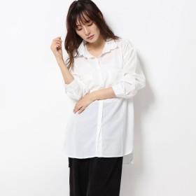 スタイルブロック STYLEBLOCK ポケットBIGシャツ (ホワイト)