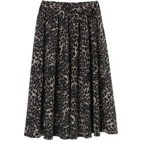 furryrate レオパードptギャザースカート