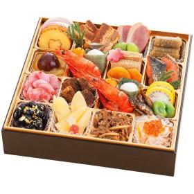 【おせち】京都 湯の花温泉 渓山閣 和 一段(W377)<関西地域お届け>383775