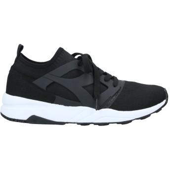 《セール開催中》DIADORA メンズ スニーカー&テニスシューズ(ローカット) ブラック 9 紡績繊維 / ゴム