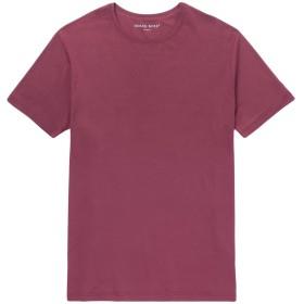 《期間限定セール開催中!》DEREK ROSE メンズ T シャツ ボルドー L レーヨン 95% / ポリウレタン 5%