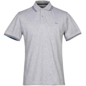 《セール開催中》HARMONT & BLAINE メンズ ポロシャツ グレー L コットン 100%